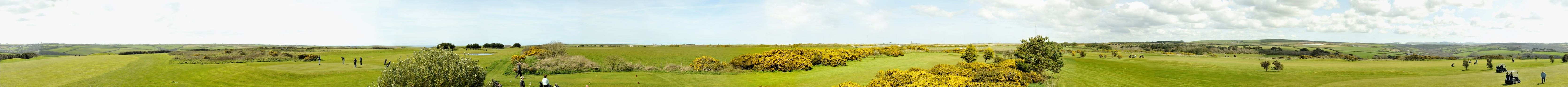 Panoramic view of Merlin Golf Course